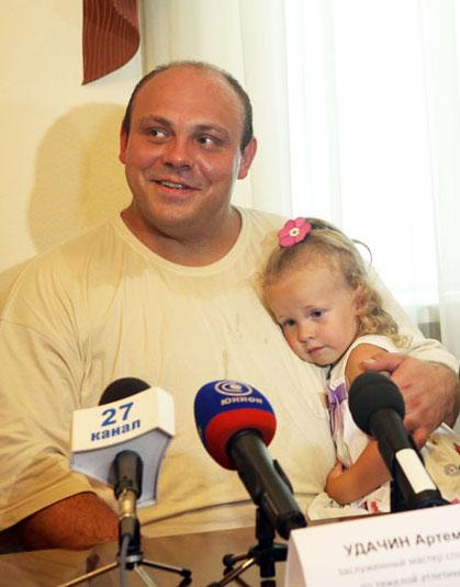 У Артема Удачина родился сын!