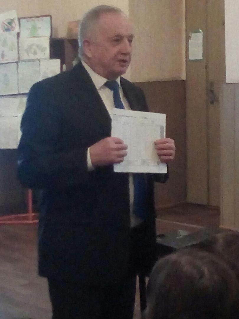Встреча с ректором ДонНТУ