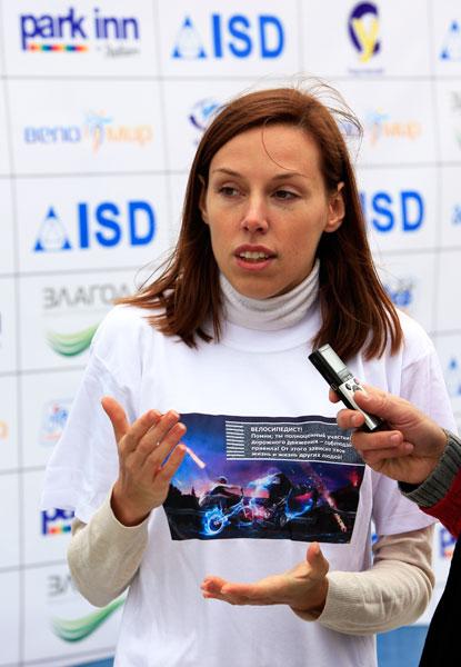 Карина Шутай: «Мы планируем провести «Дивогонку» во всех девяти районах Донецка