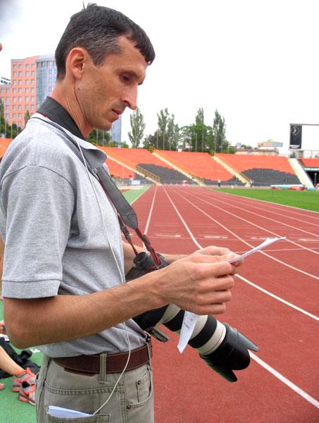 Олимпийский фотограф. День рождения Валерия Белокрыла