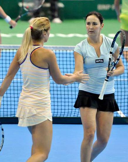 Юлия Бейгельзимер и Ольга Савчук выиграли парный турнир WTA в Катовице