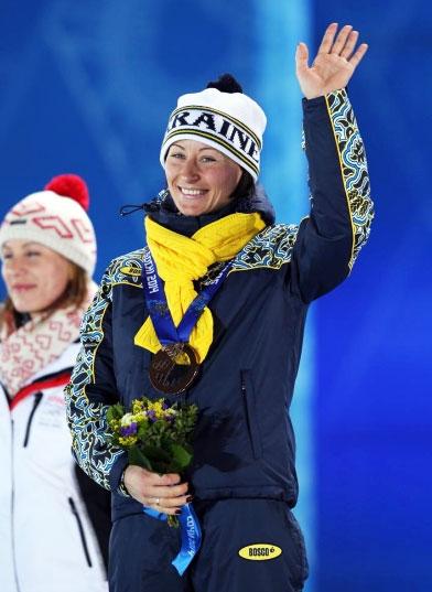 Вита Семеренко завоевала первую медаль Украины в Сочи
