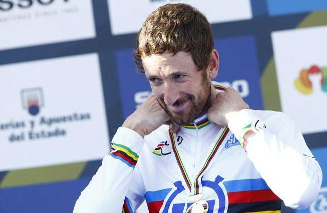 ЧМ по велоспорту. Брэдли Уиггинс впервые стал чемпионом мира в индивидуальной гонке