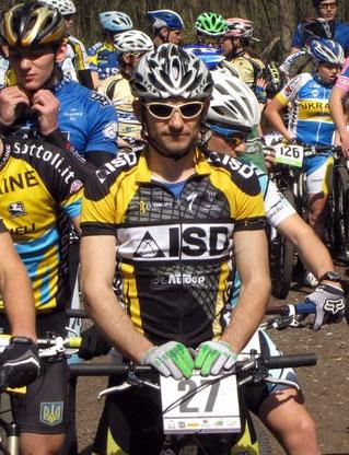 Велогонщики ISD MTB Team на подиуме национальных стартов в Харькове