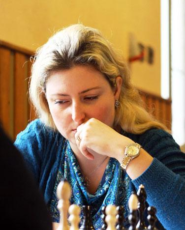 Елена Чередниченко улучшала личный рейтинг в Чехии