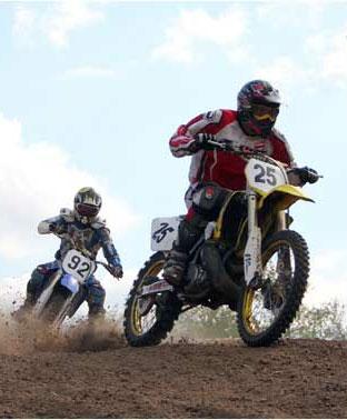 В Донецкой области стартовала крупная европейская гонка по мотокроссу
