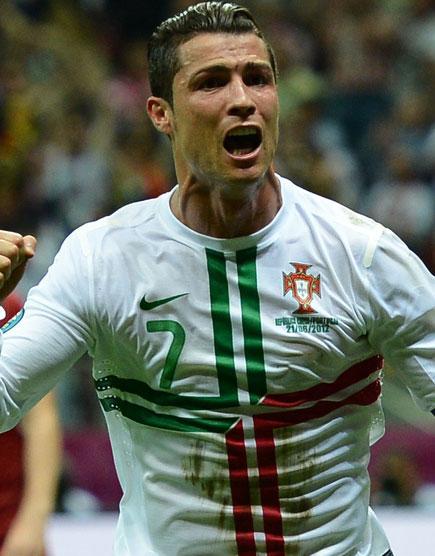 Евро-2012. Чехия - Португалия. Роналду-гол