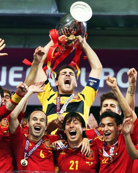 Все лучшее Испания показала в финале