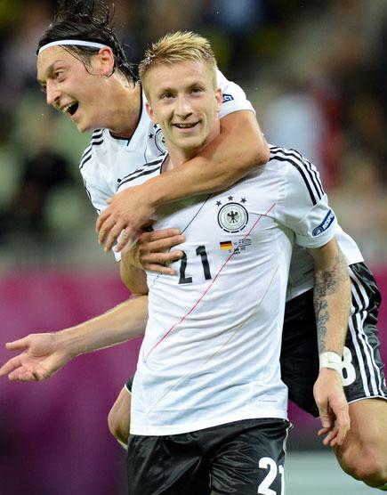 Германия прошла Грецию и установила рекорд
