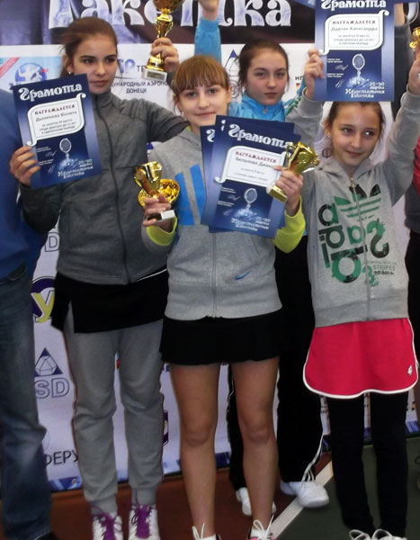 Абсолютная победа Дианы Белаловой на «Хрустальной ракетке»