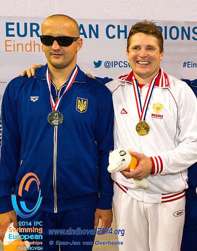 Виктор Смирнов – четырехкратный призер чемпионата Европы в Эйндховене!