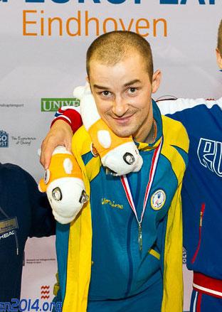 Ярослав Семененко стал двукратным чемпионом Европы в Эйндховене!