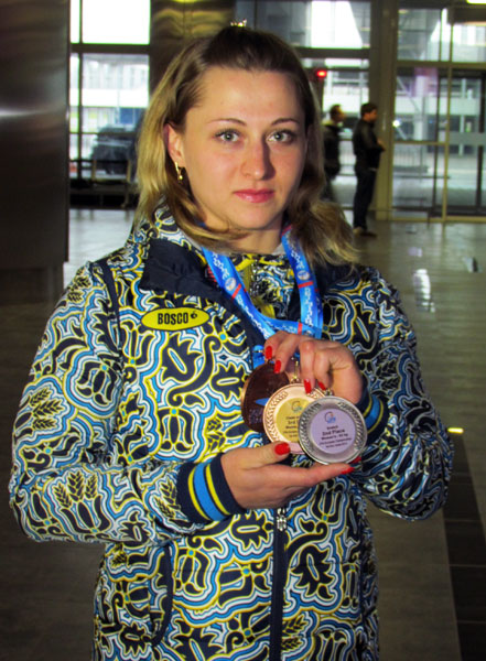 Юлия Калина обновила национальный рекорд в весе до 63 кг!