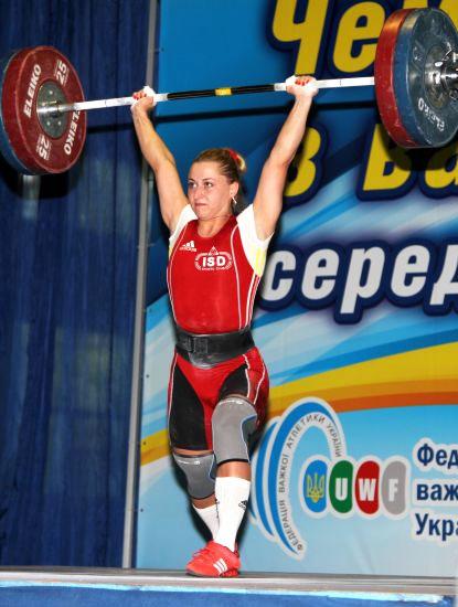 Юлия Калина улучшила результат сборной Украины по тяжелой атлетике на ЧМ во Вроцлаве