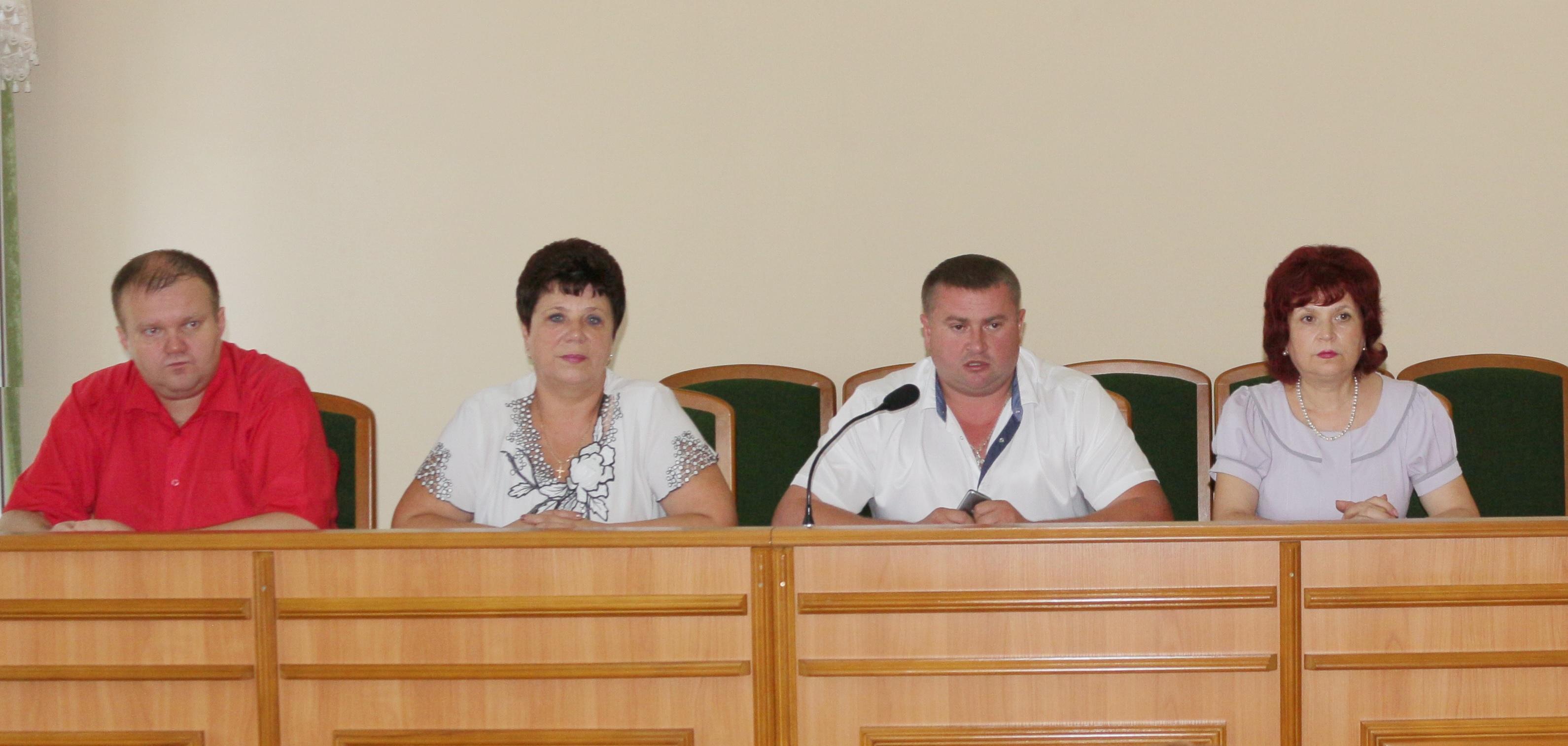 Очередная сессия районного совета