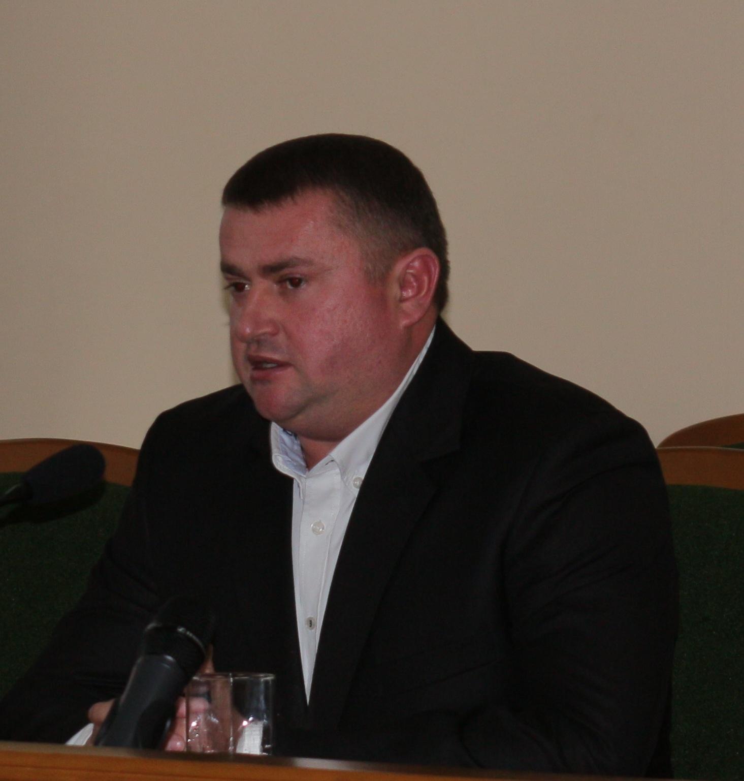 Е. Пластун избран председателем Артемовского районного совета