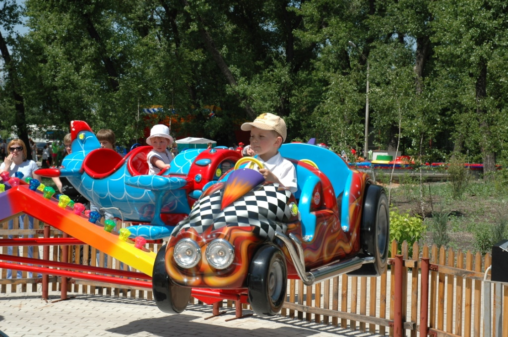 24 сентября в парке отдыха и развлечений
